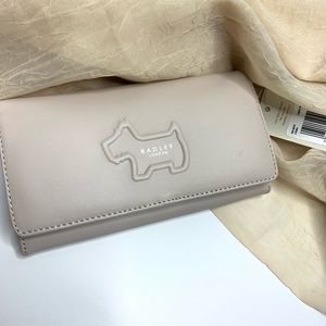Radley London Shadow Large Flapover Leather Wallet